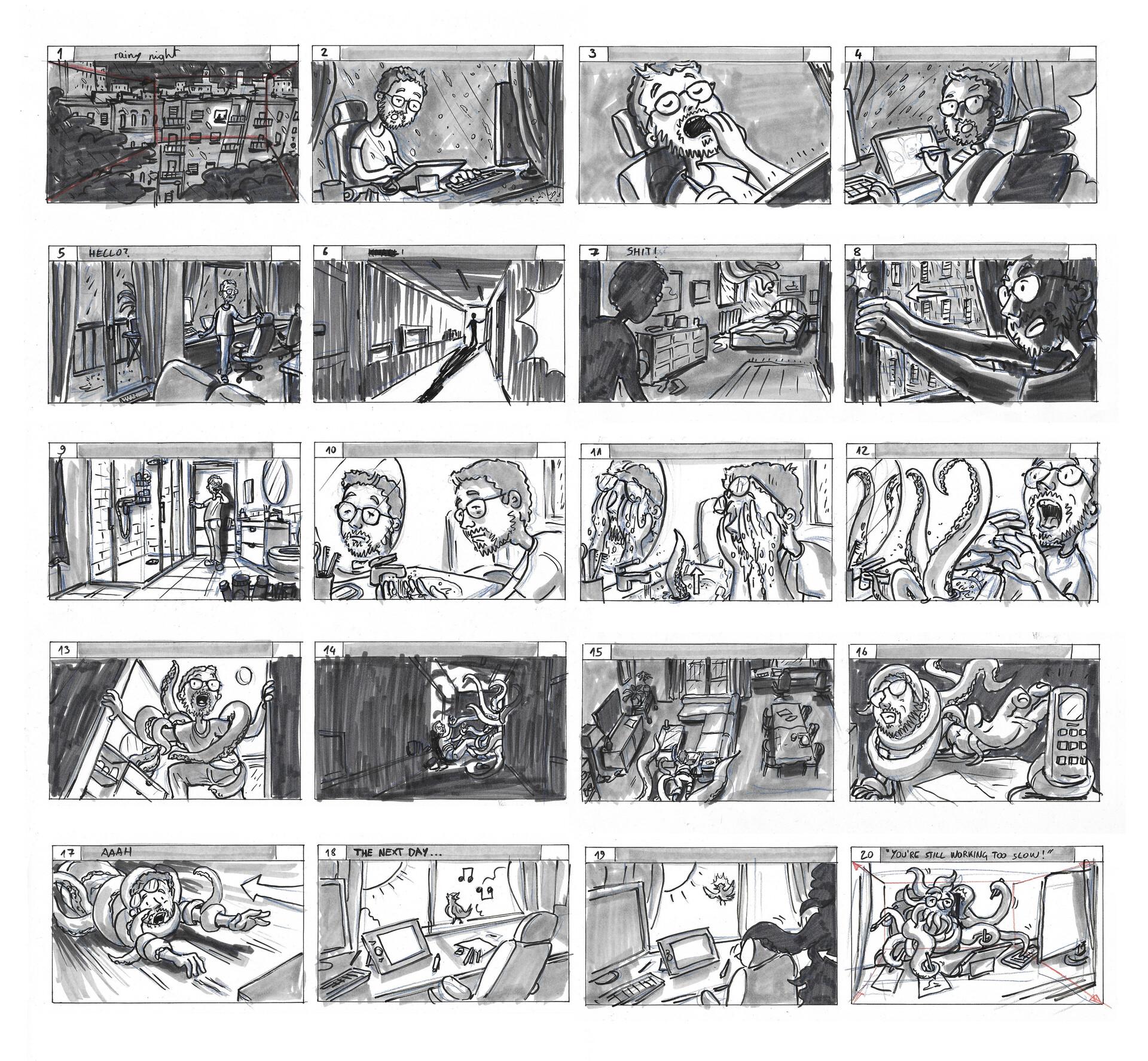 Nicolas rivero storyboard full