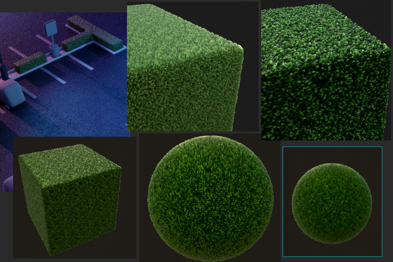 Vegetation texture/displace i made on Substance.