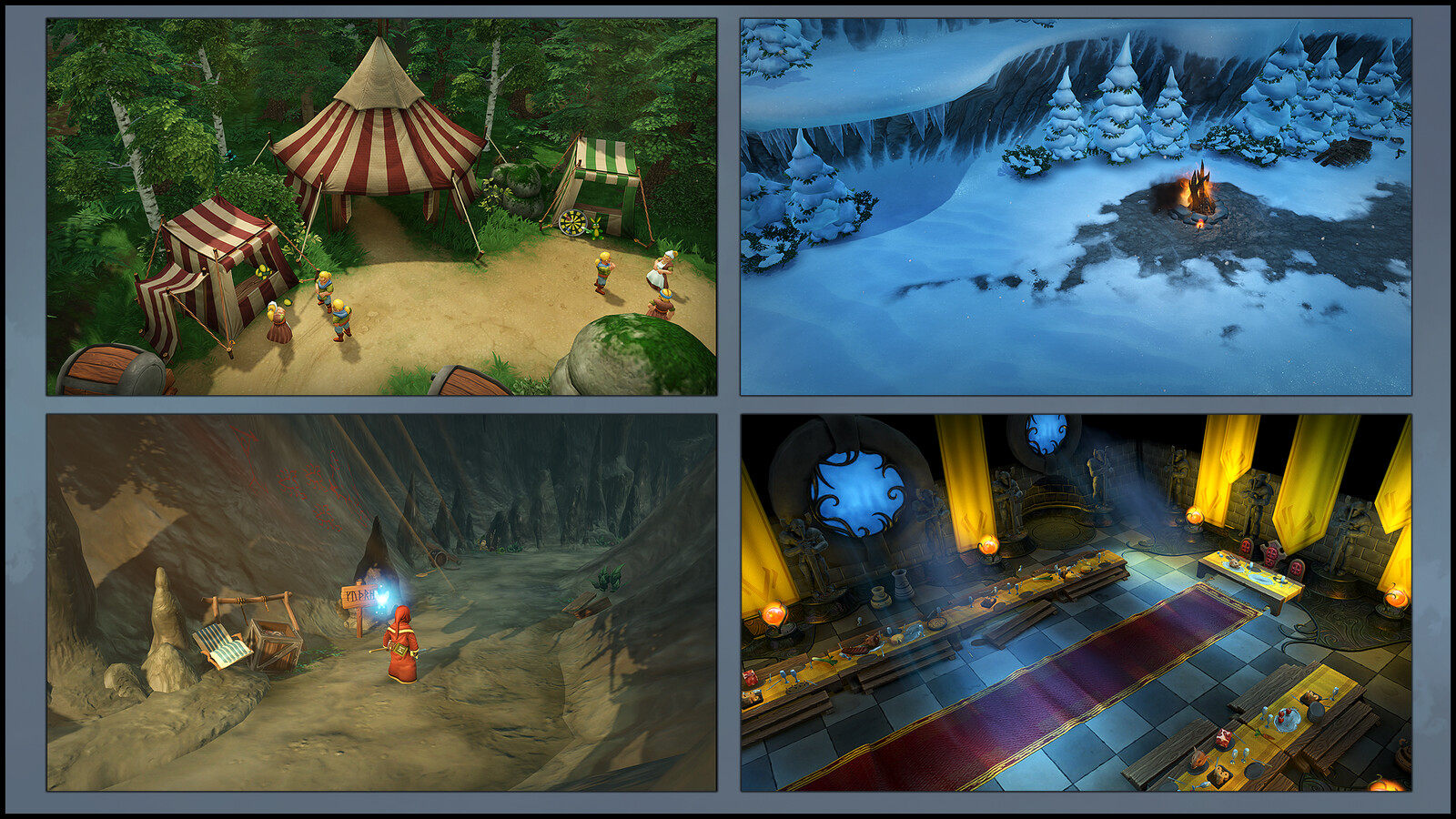 Magicka 2 has a lot of different locations and moods. Here is a sample from the game to give a feel of the finished product.