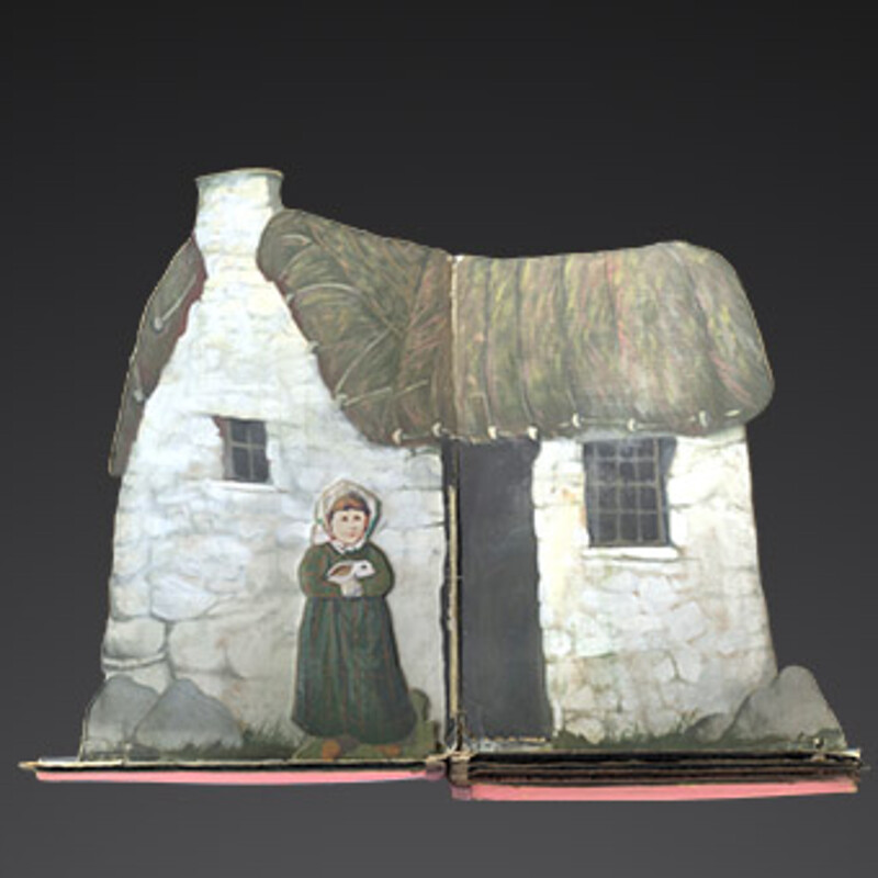 The Cheviot and the Stag pop-up book