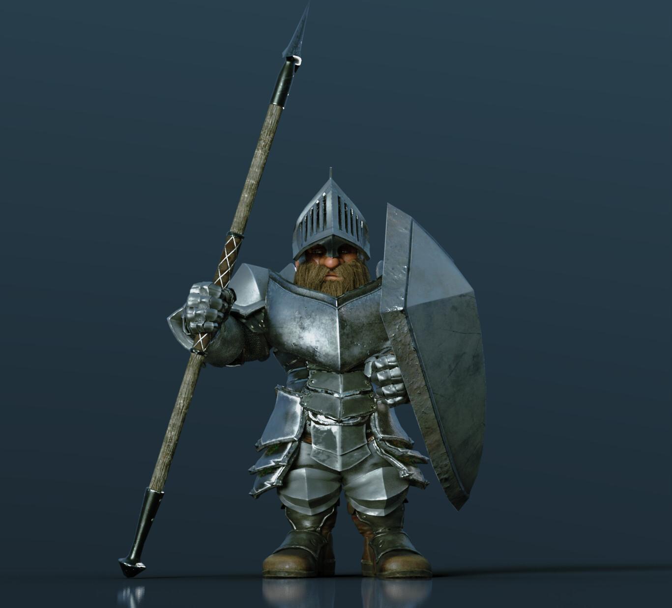 Amoured Dwarf