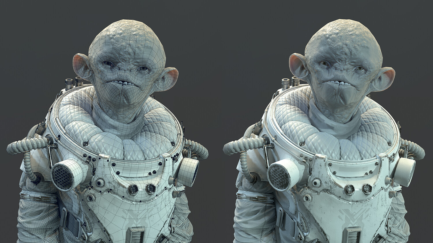 Real-time shading and topology