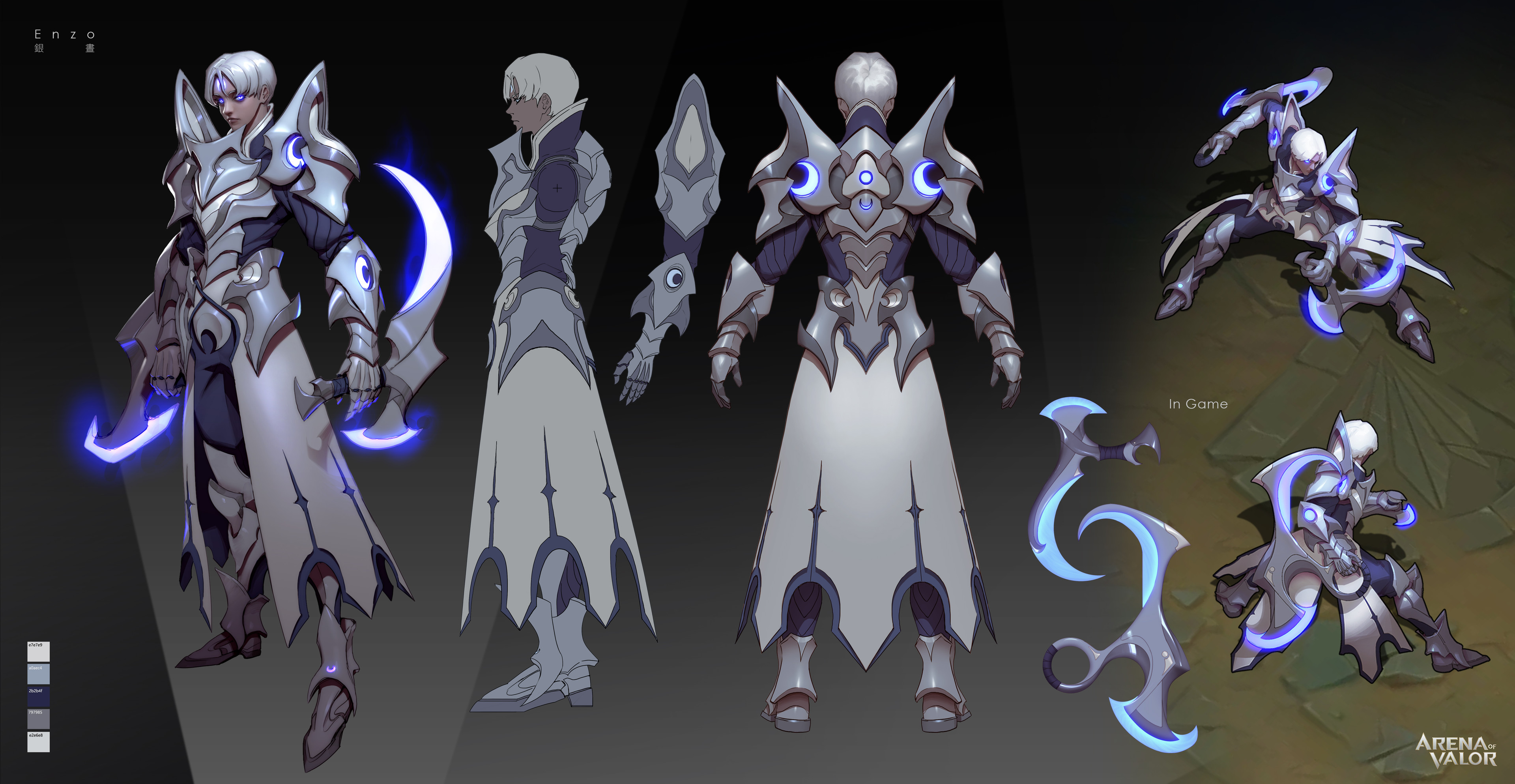 Enzo  Moon Knight skin concepts