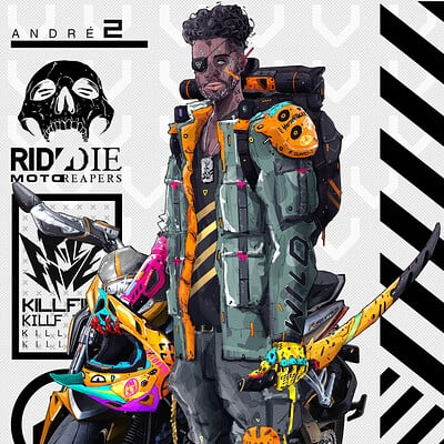 ANDRÉ | KILLFIVE [vol.two]