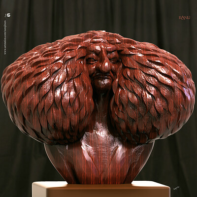 Surajit sen ranu digital sculpture surajitsen sept2019