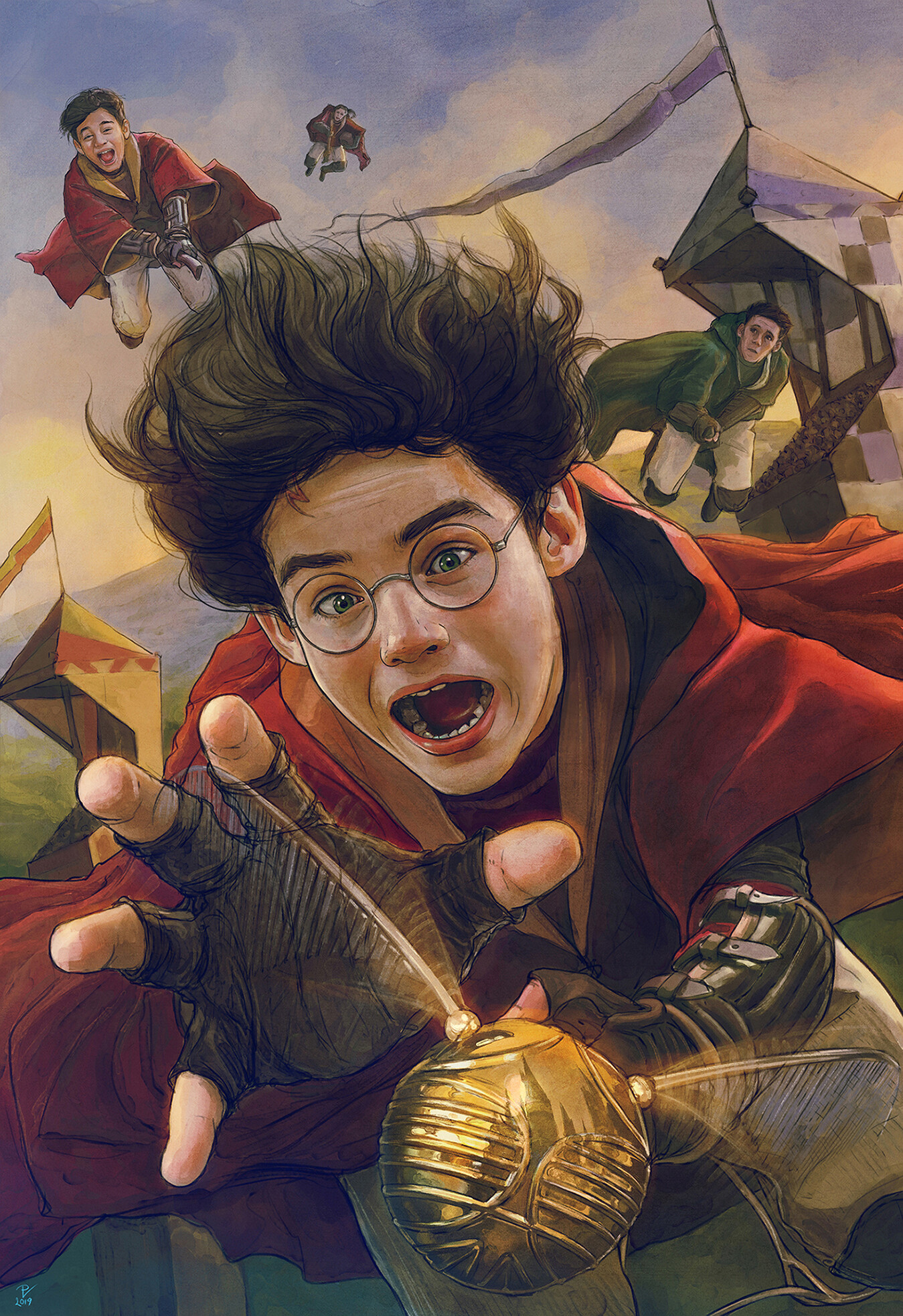 Artstation Harry Potter And The Philosopher S Stone Fanart 16 Vladislav Pantic