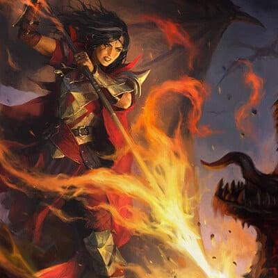 Kilart choe heonhwa slaying fire