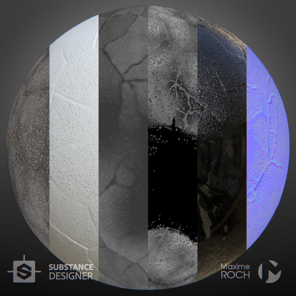 Maxime roch asphaltbrokenwet sphere maps v001