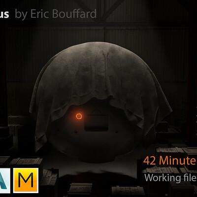 Eric bouffard project icarus title flat