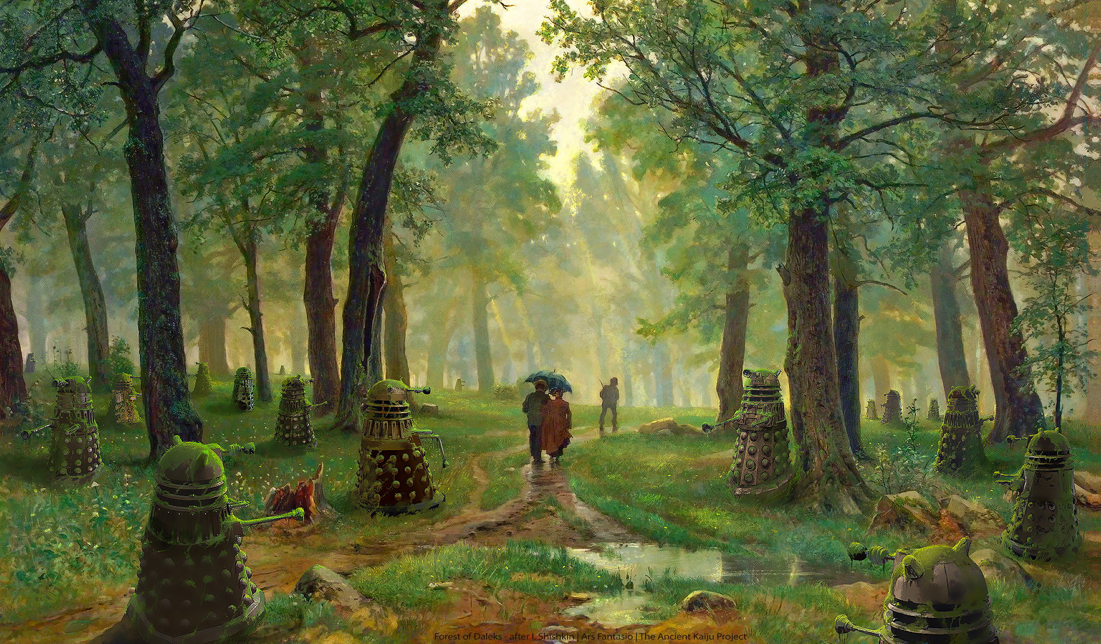 Forest of Daleks