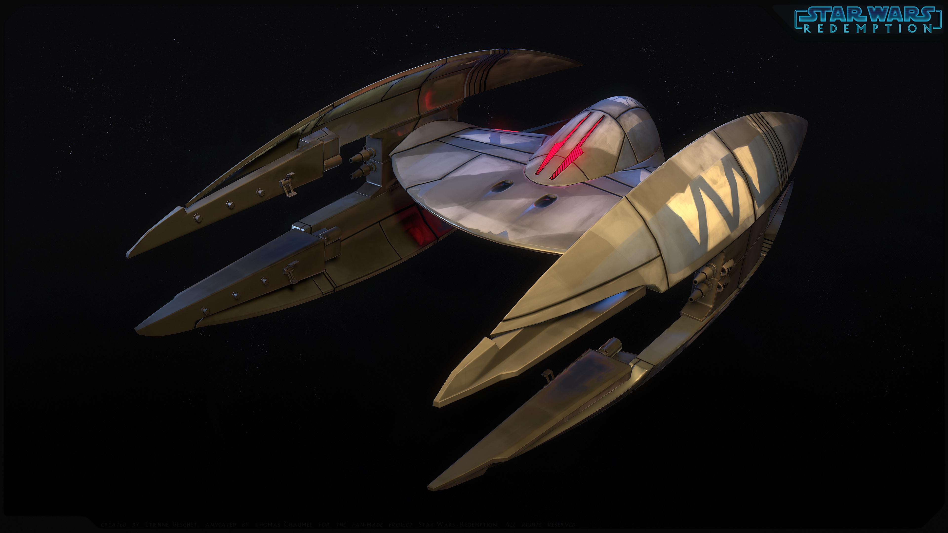 CIS Vulture Droid - 3dsmax/MarmosetToolbag3/3DCoat/Akeytsu