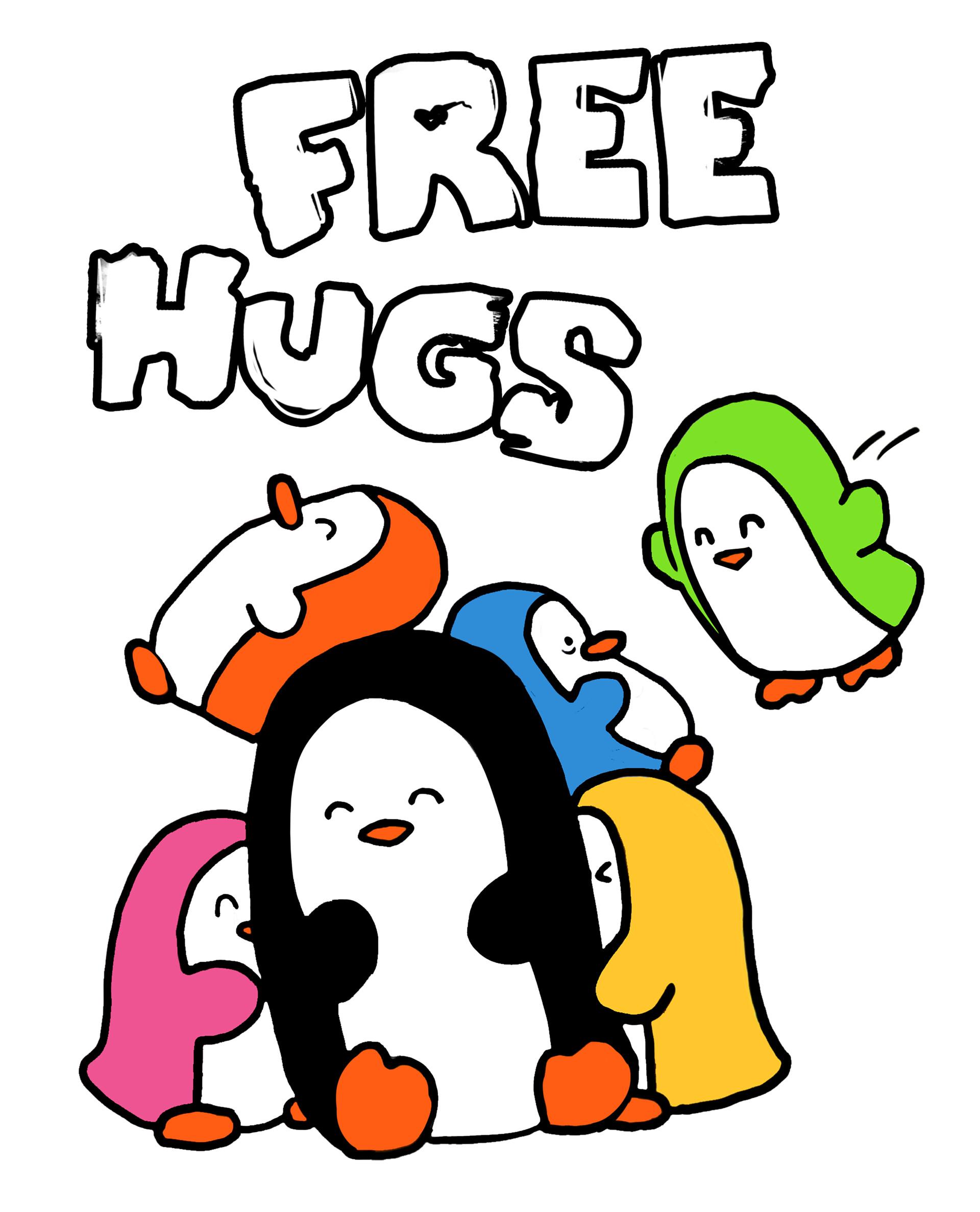 Shellz art free hugs remastered 2019