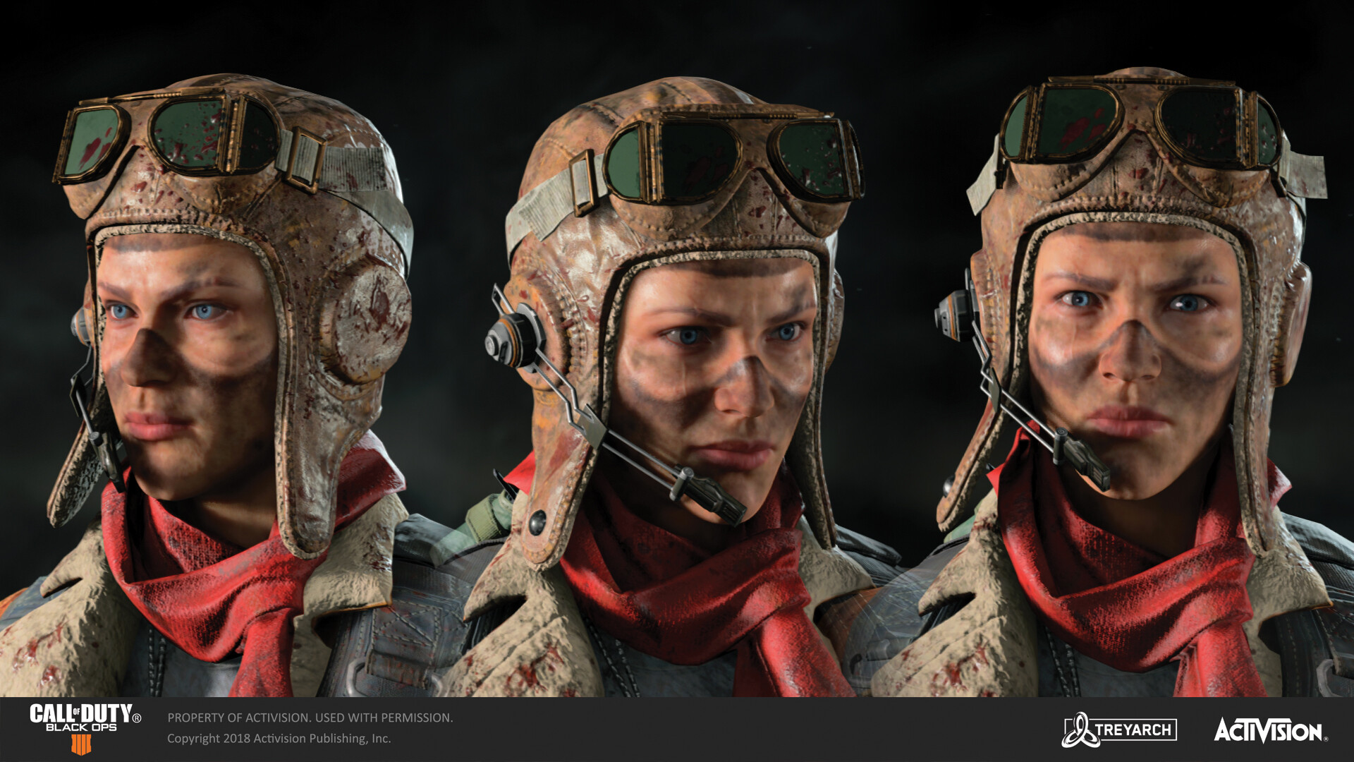 Body for this skin was designed by Karakter, and headgear/warpaint designed by MuYoung Kim.