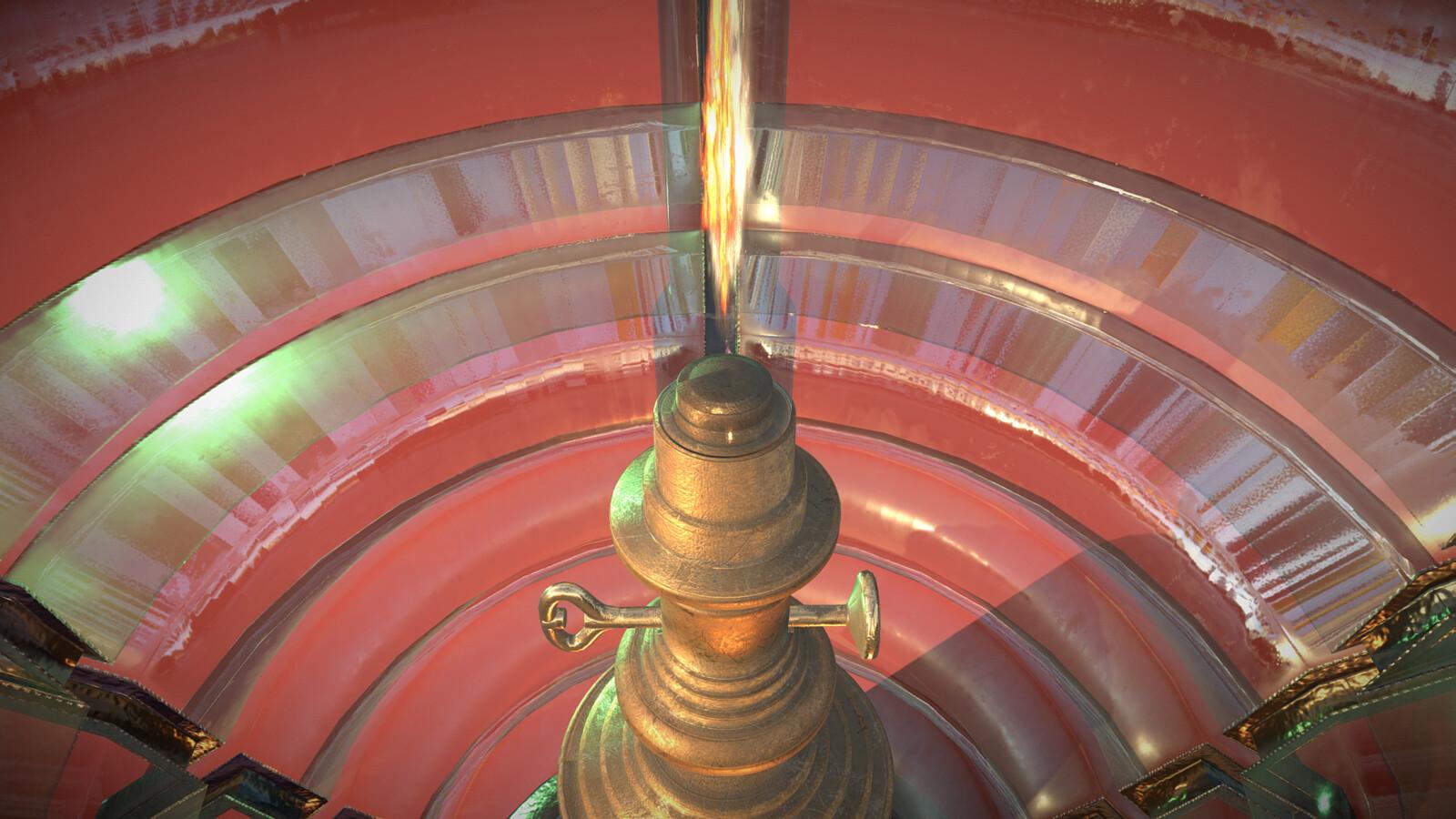 Lighthouse Lamp - Detail