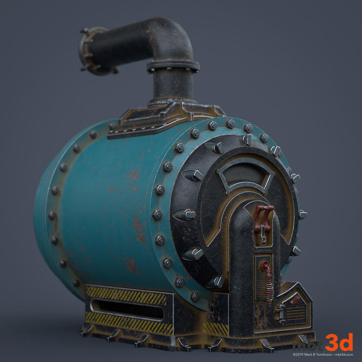 Belly Boiler: iRay render