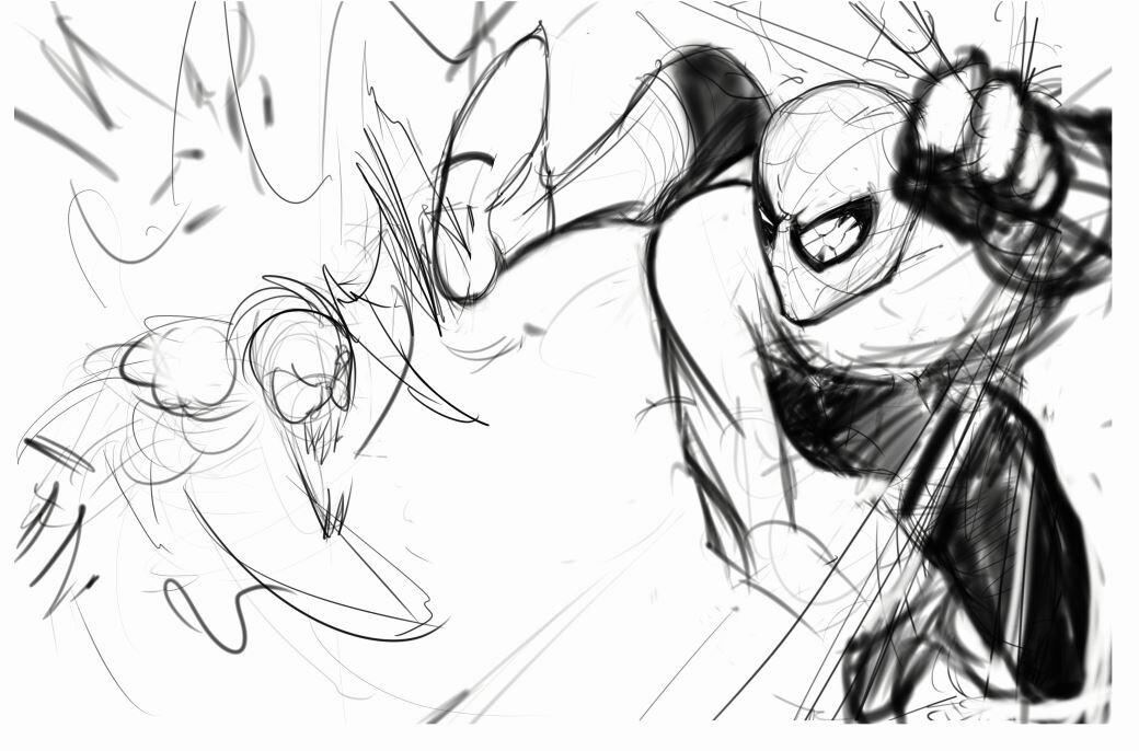Super rough sketch design