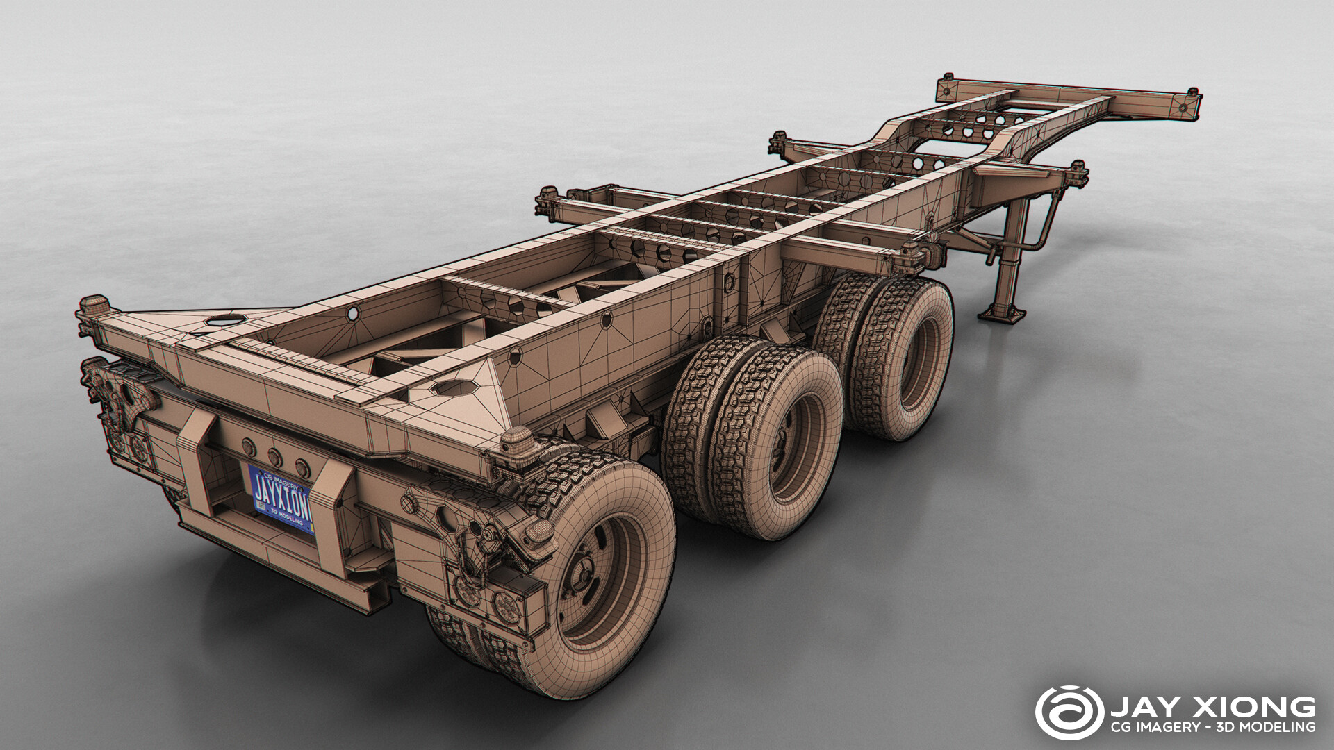 Shipping Container Chassis