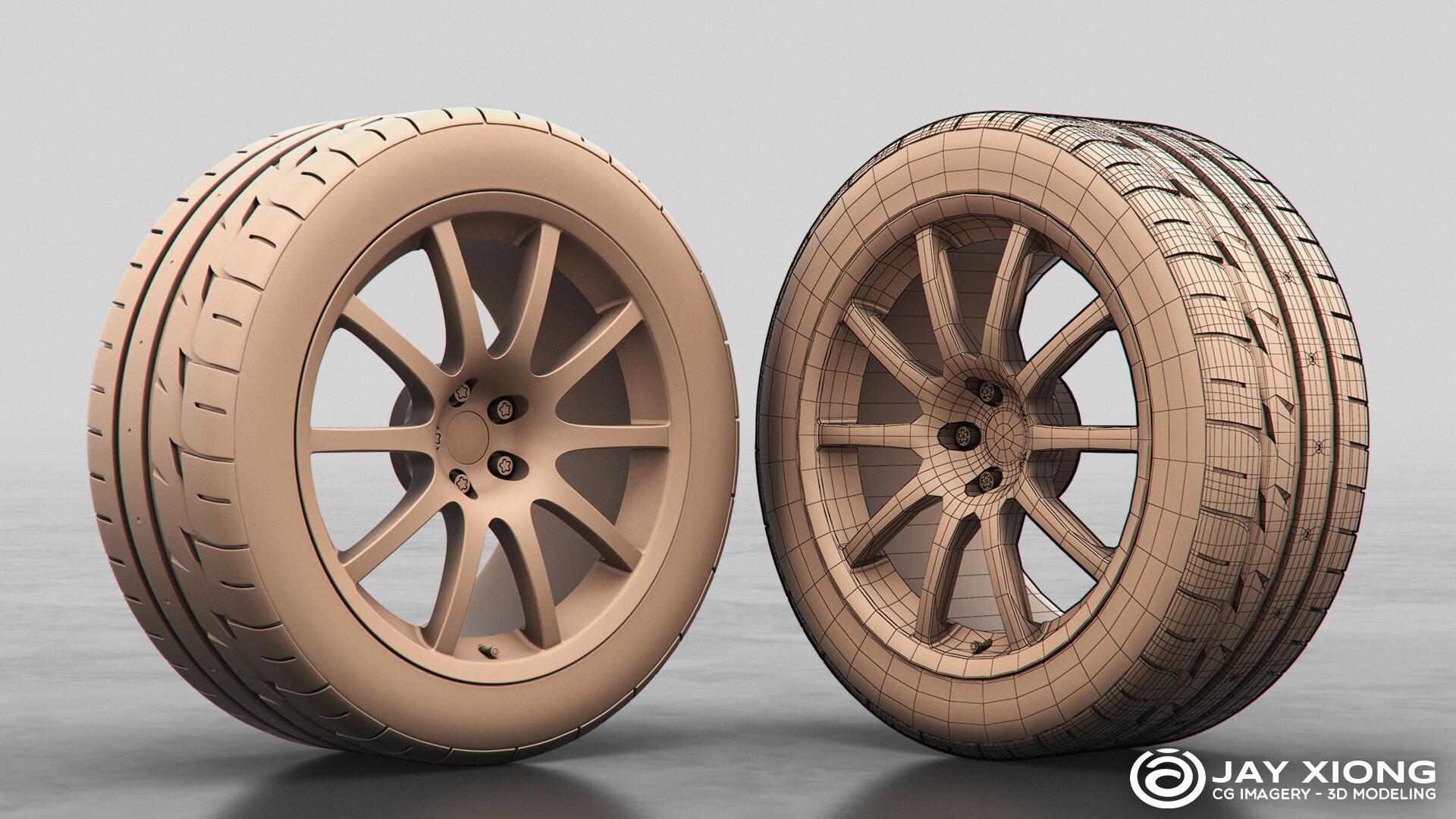 Sportec Mono 10 Wheel & Bridgestone Potenza RE-11 Tire