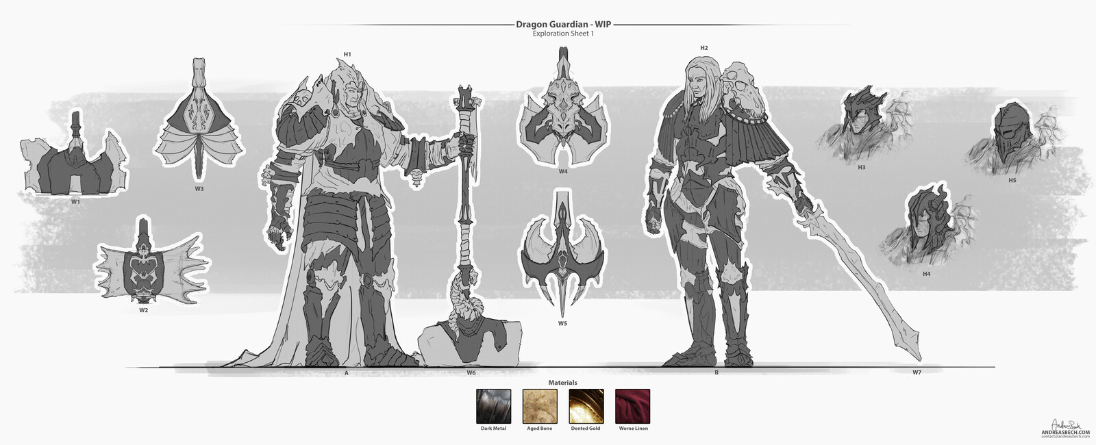 Dragon Knight - Early Concept Art