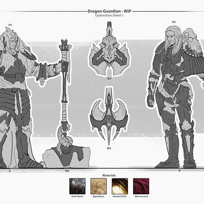 Andreas bech dragon guardian exploration part 1