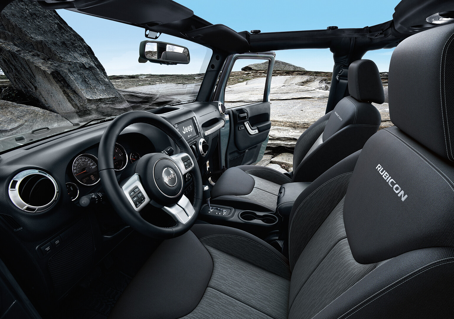 Jeep Wrangler: CG Seats