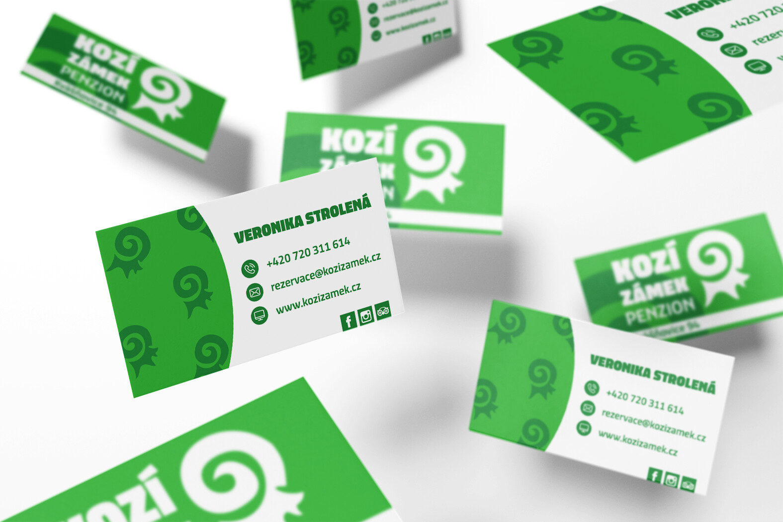 Business card | Kozí zámek