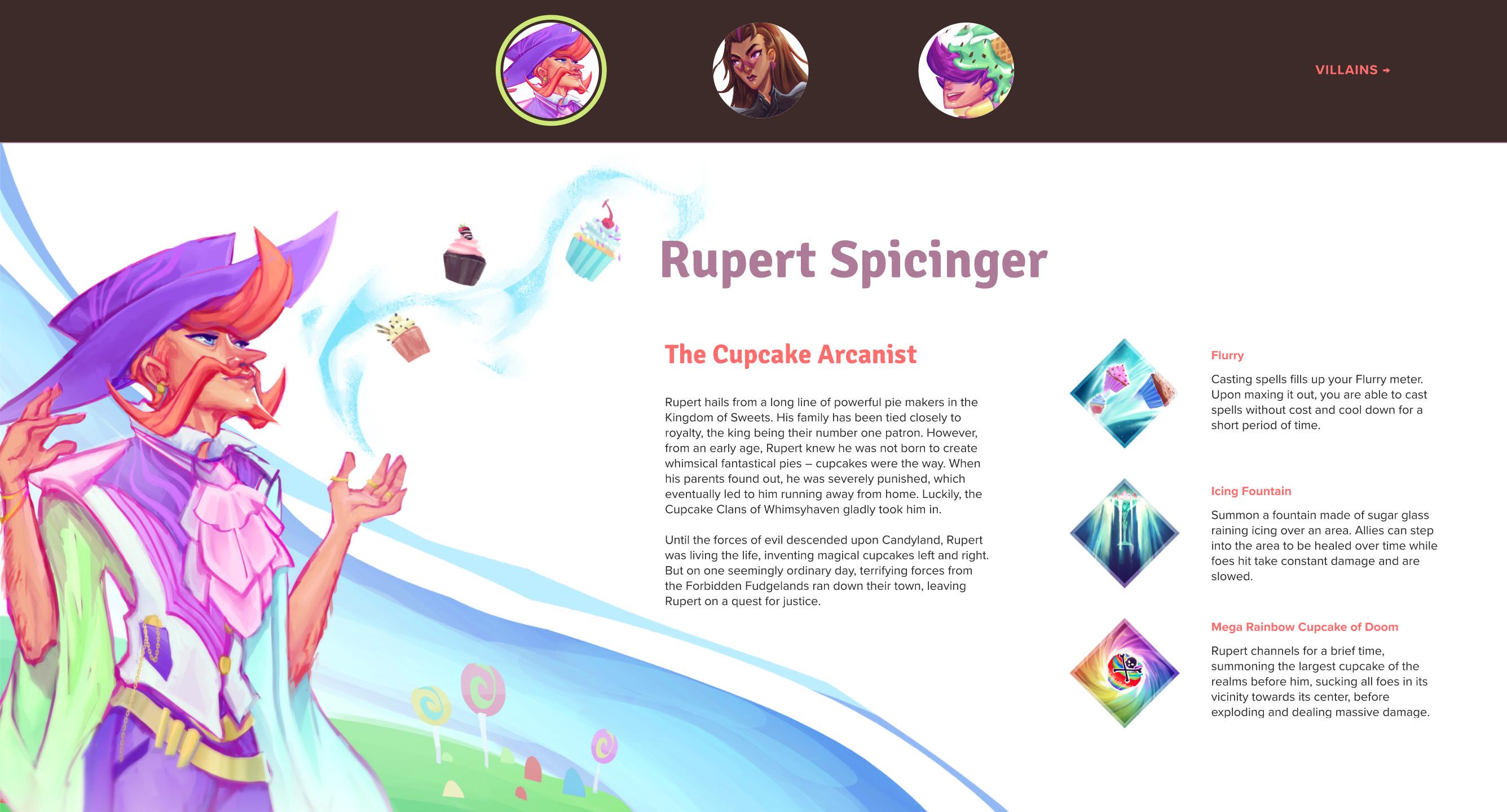 Character page screenshot 3