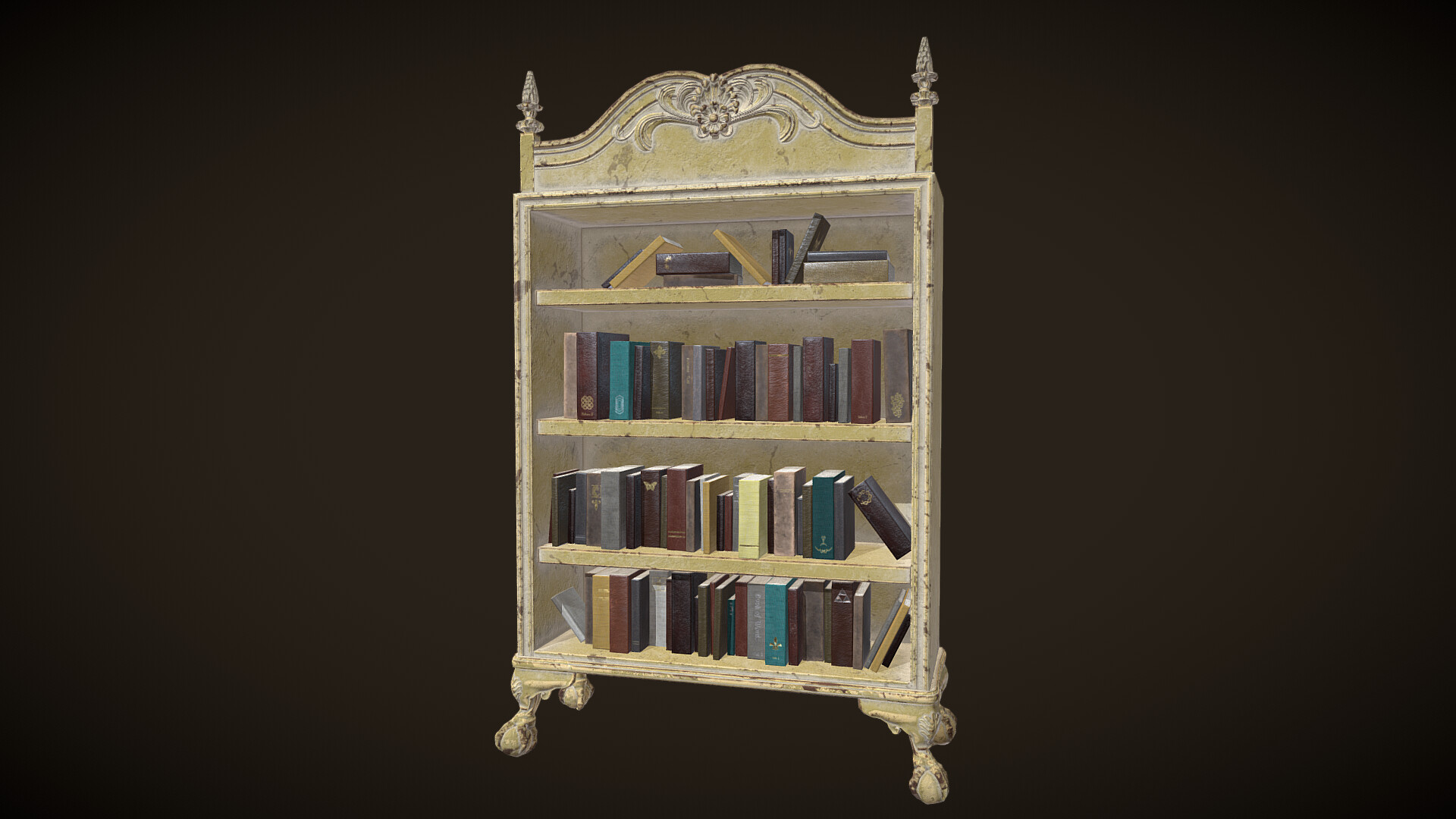 Book Case Short - With Books