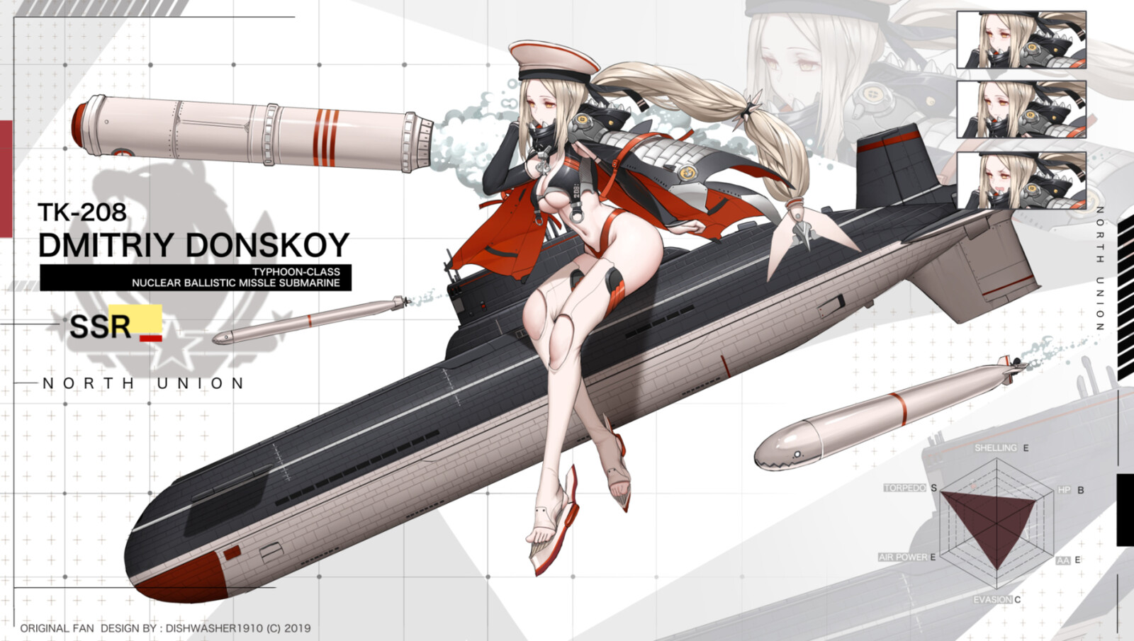 Azur Lane fan-design : Dmitriy Donskoy