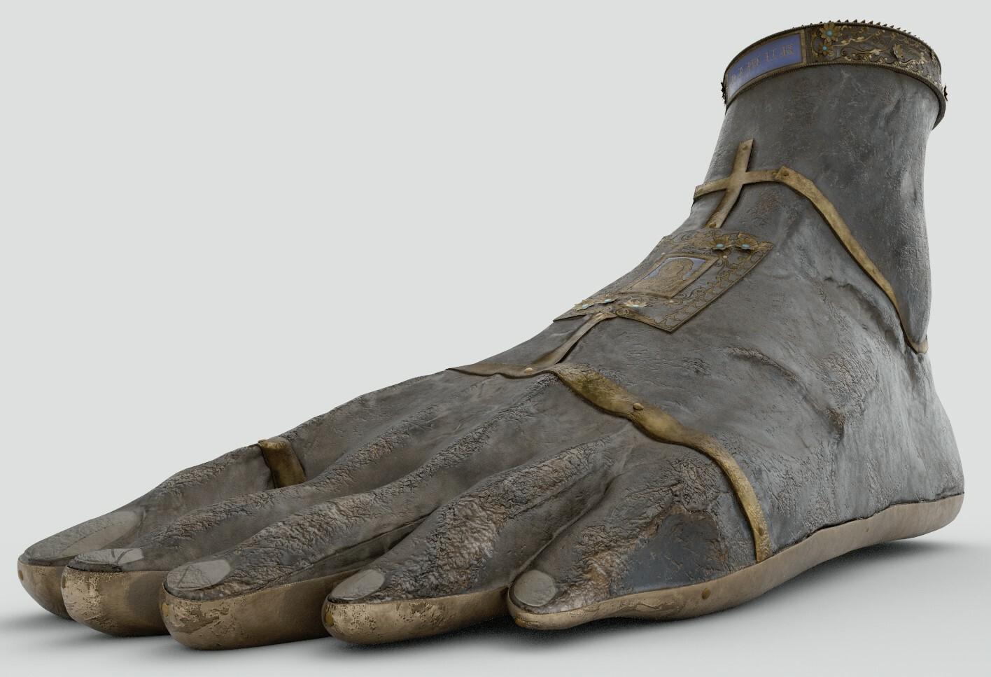 Nimue Foot Render