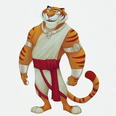 Arjun somasekharan tiger char