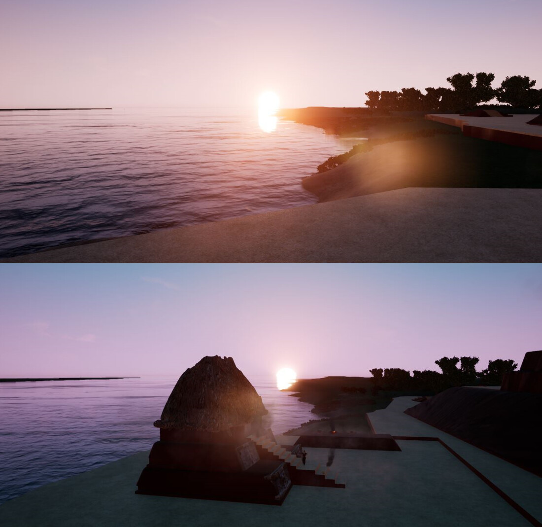 Structure 5C-2nd Zenith Sunrise Event with Unreal 4.20