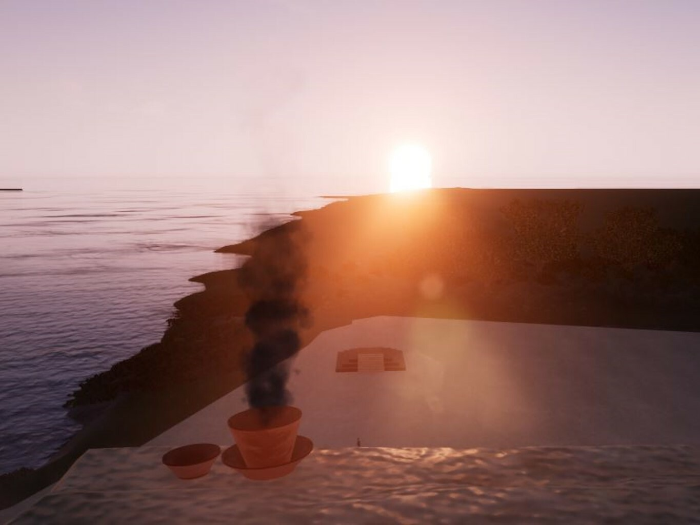 Structure 6 Equinox Sunrise Event with Unreal 4.20