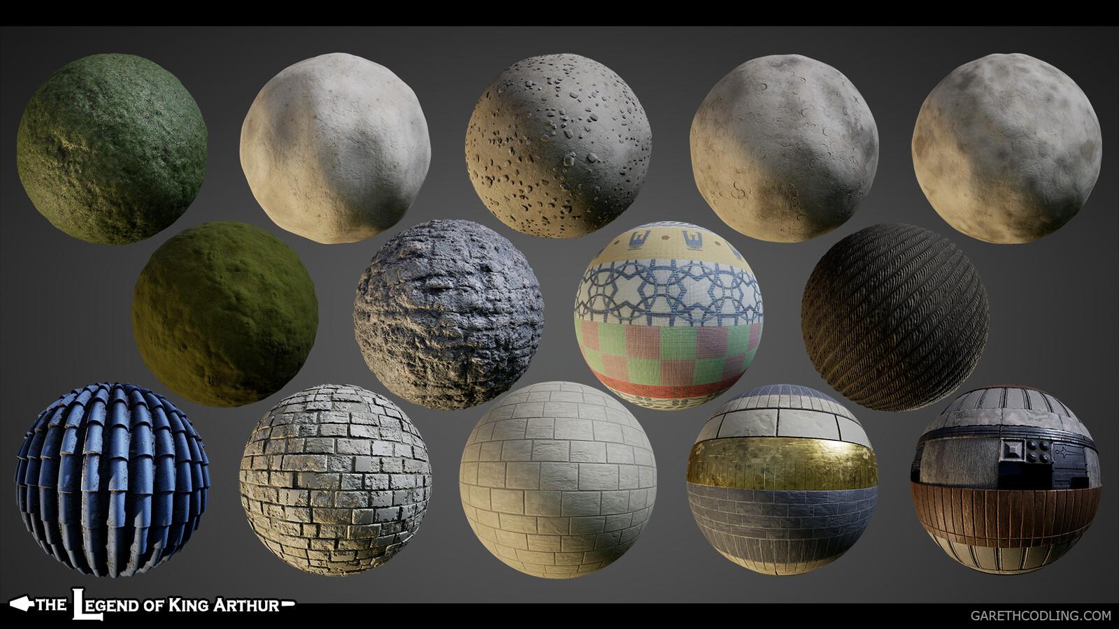 Material Balls