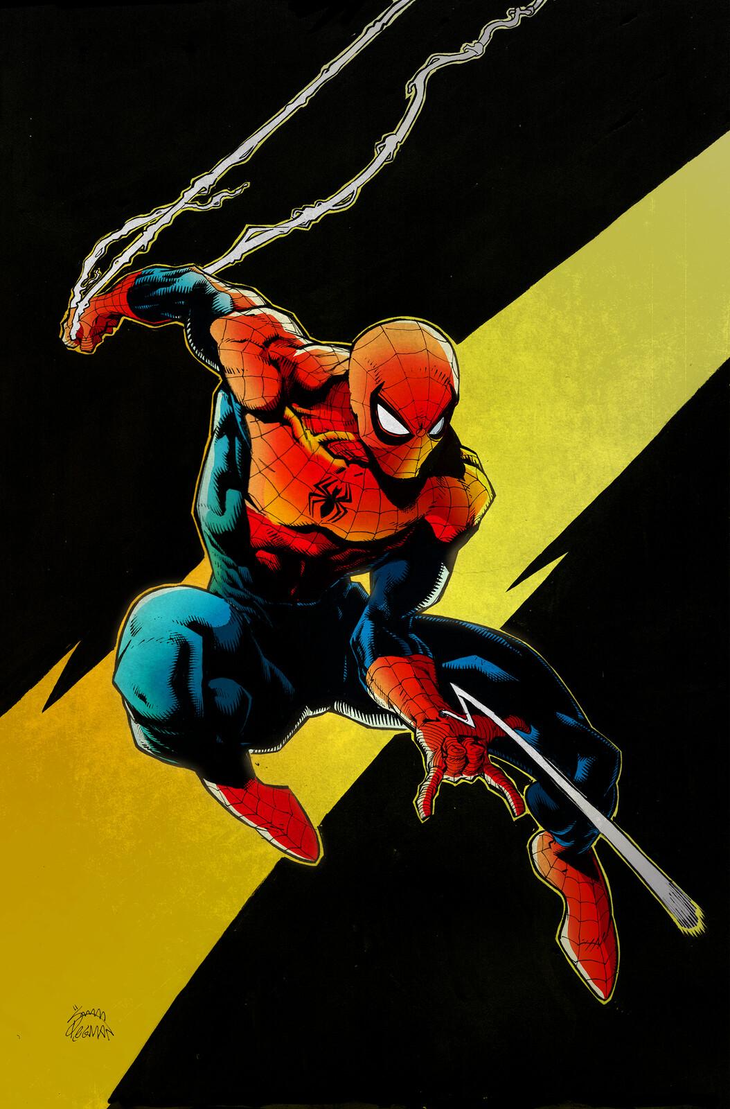 Spiderman - My colours / Ryan Stegman inks