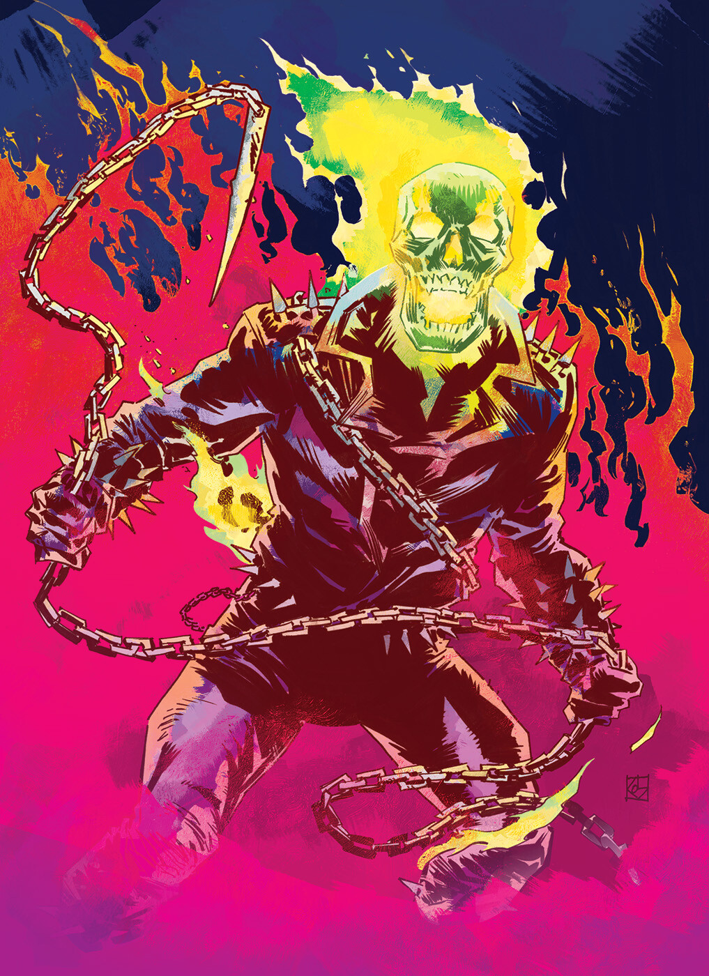 Ghost Rider Colours
