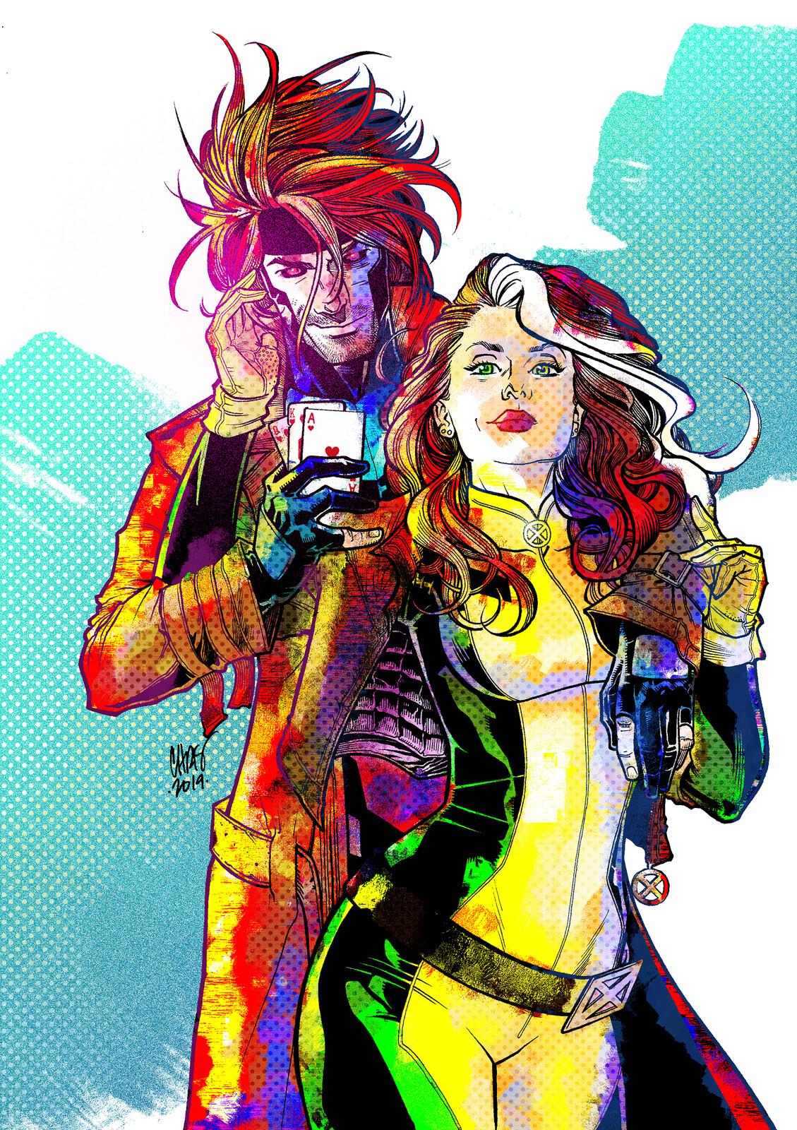 Gambit & Rogue - Colours