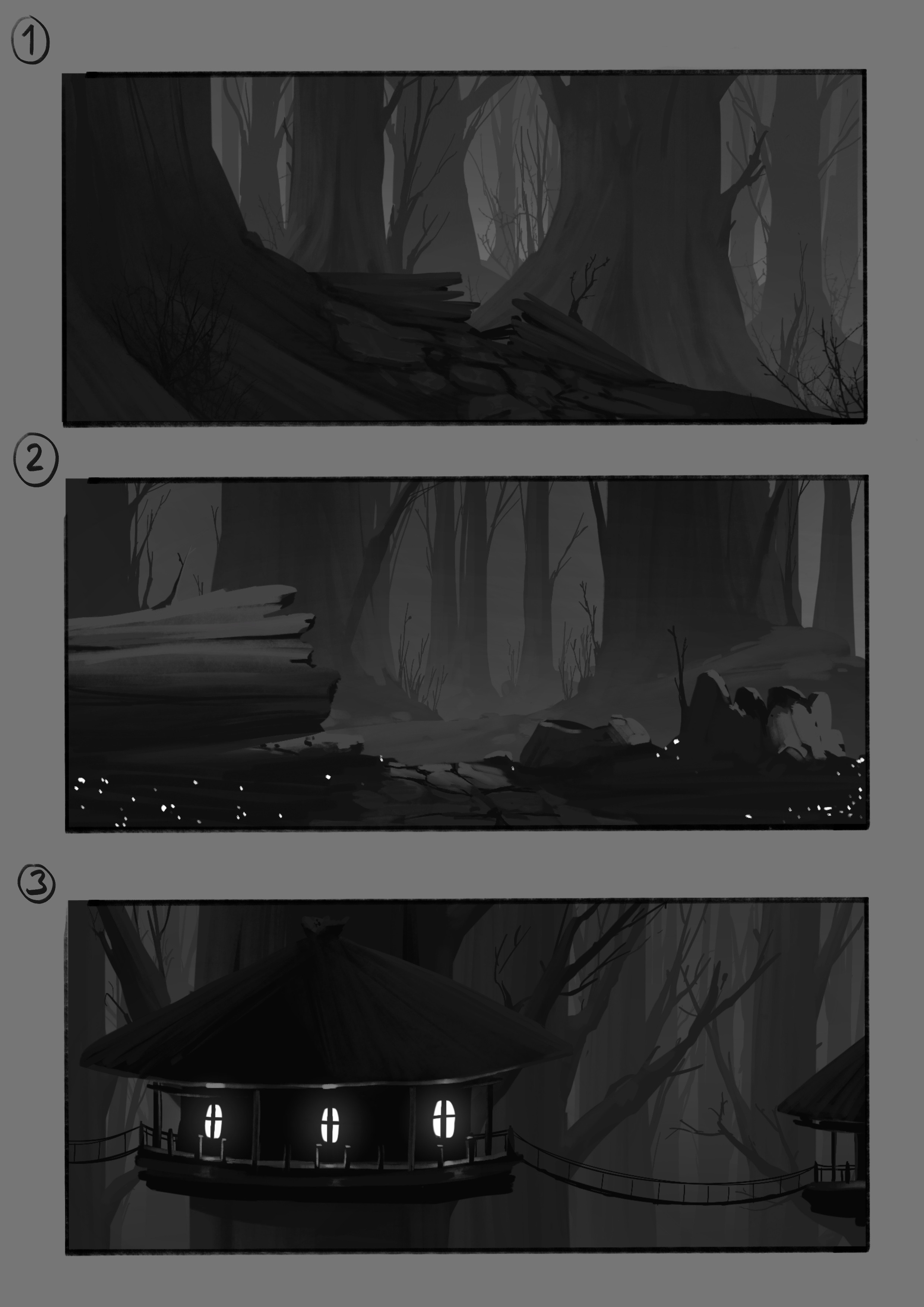 location concepts for the forest level