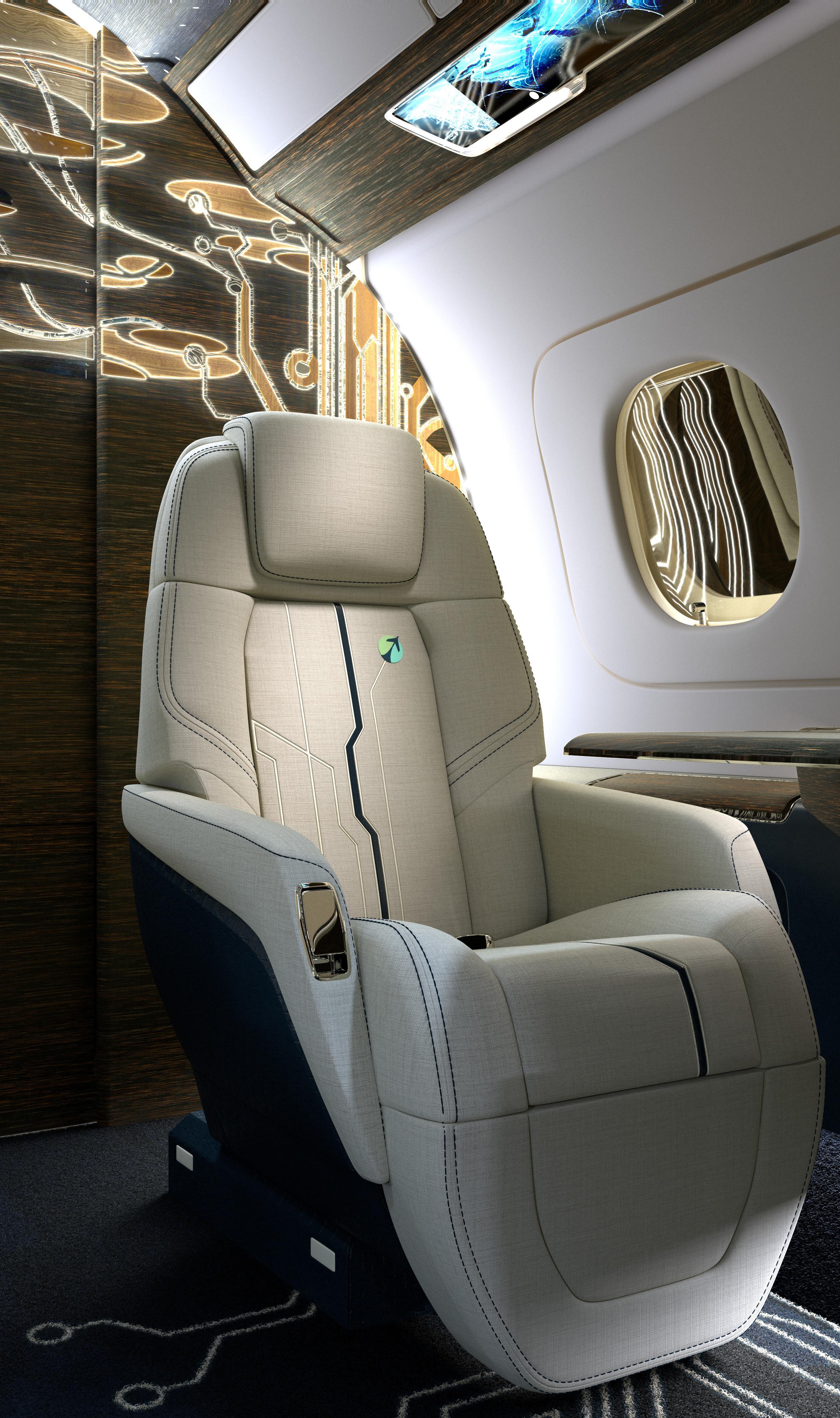 Seat closeup