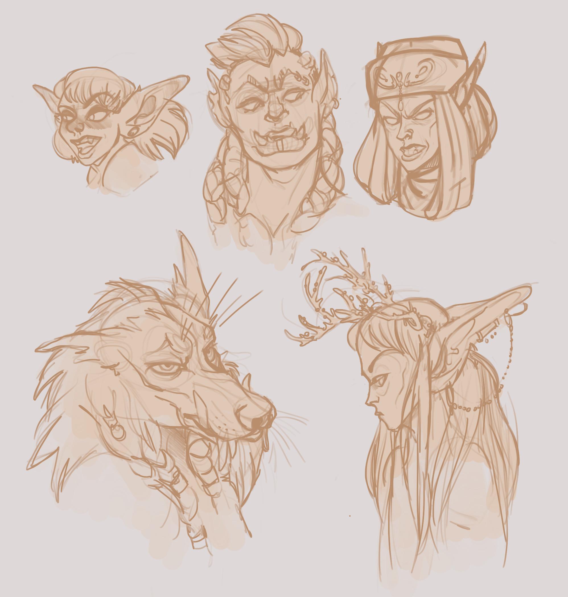 My current WoW mains; Muuscatelle (arcane mage), Csillag (arcane mage :o), Cymbelline (void elf... something), Lohengrimm (arms warrior), and Fionnuala (holy priest)