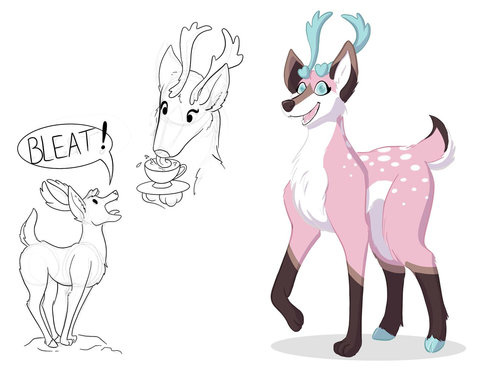 Lief the Caribou-Fox