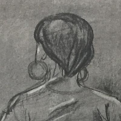 Sydney dennis shane life drawing 01