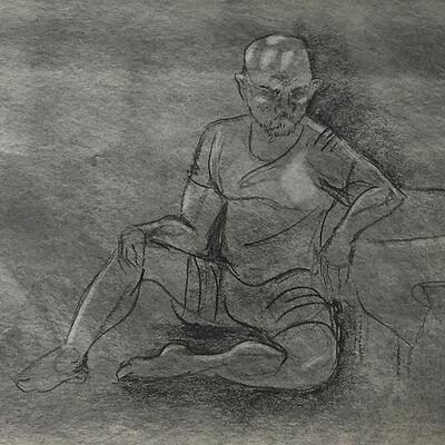 Sydney dennis shane life drawing 03