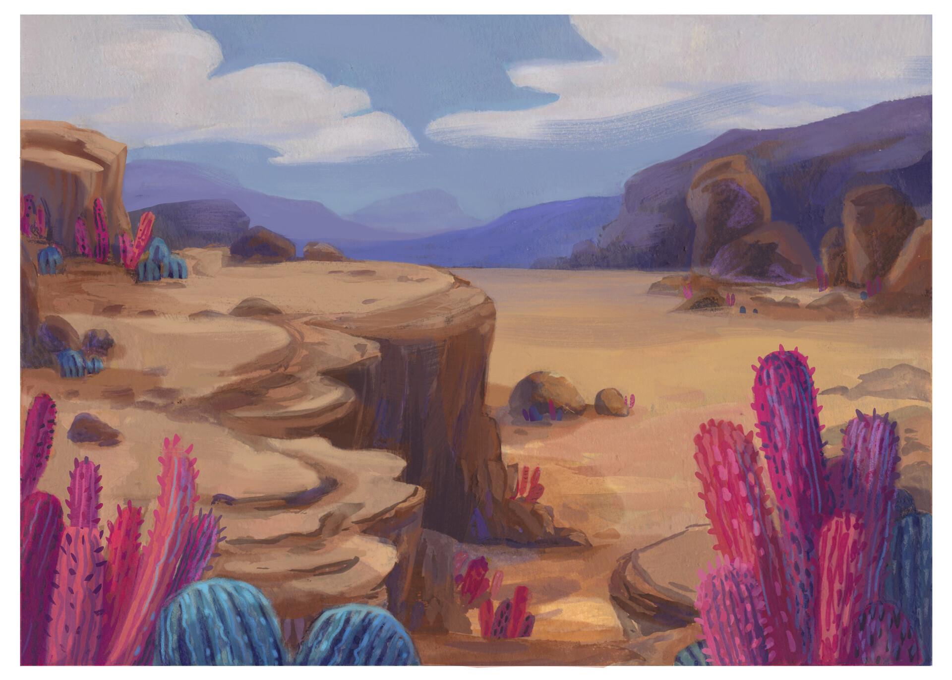 Tara williamson pink desert