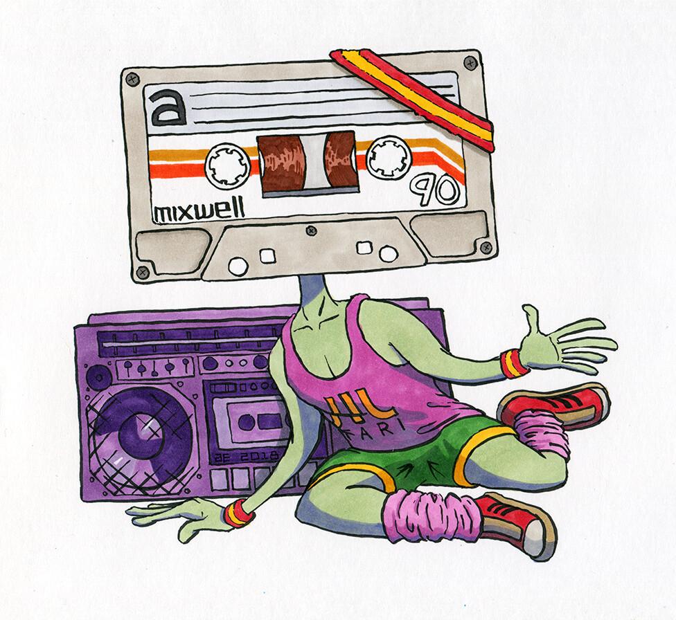 Cassettecersize