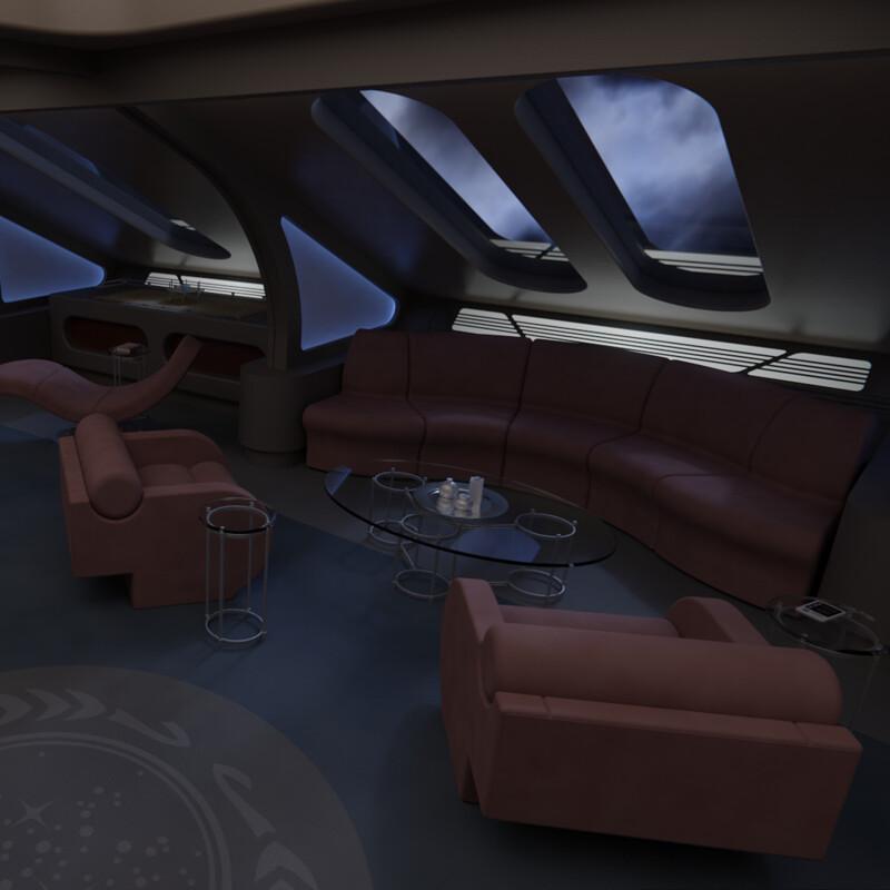 USS Astraeus Captain's Quarters
