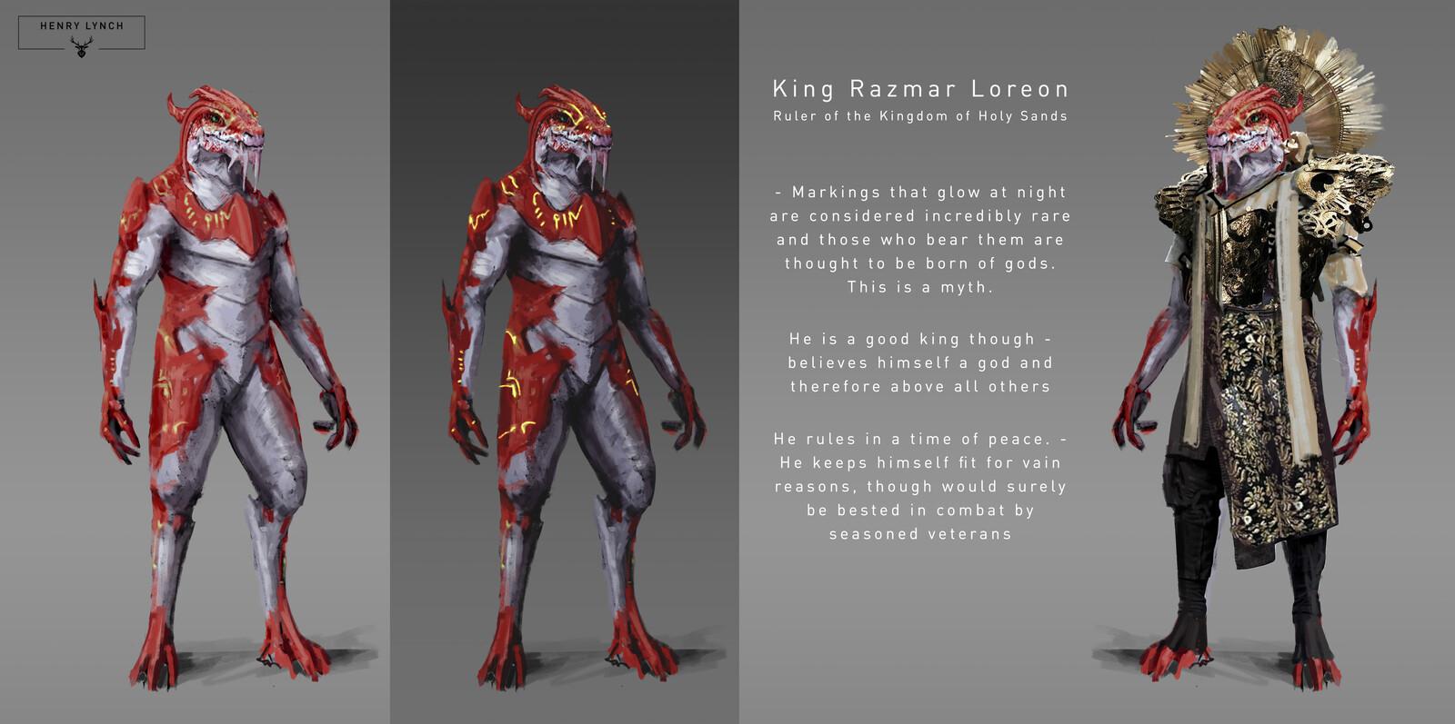 King Razmar Loreon