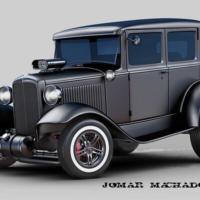 Jomar machado a ford 32 4 doors