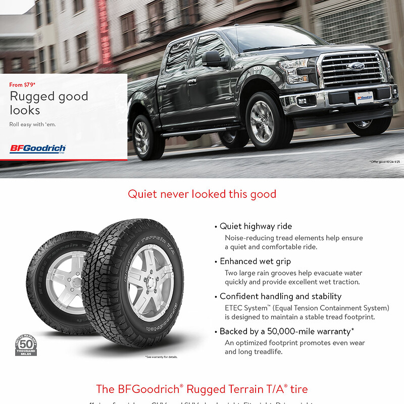 BFGoodrich Rugged Terrain Tires
