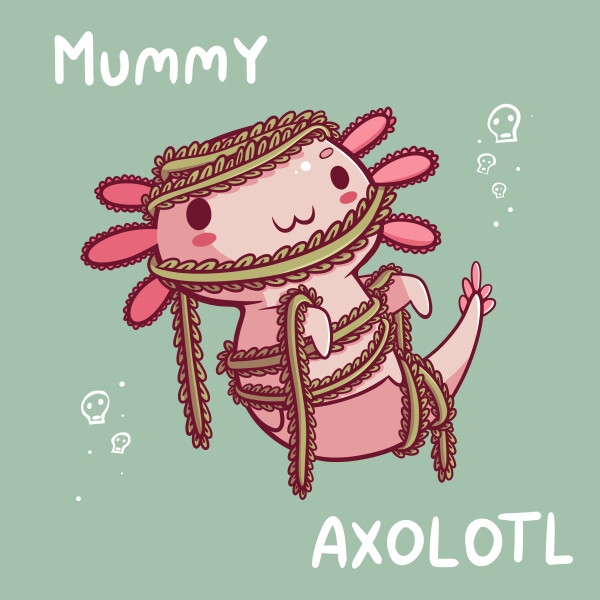 Danielle jones mummy axolotl